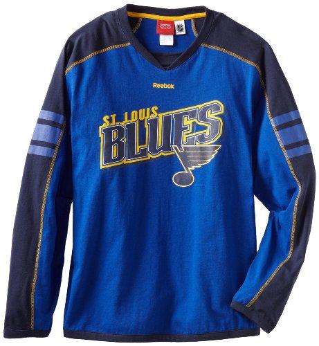 Unusual Items St Louis Blues Reebok NHL Long Sleeve