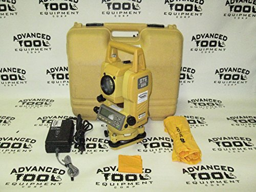 Topcon GTS-225 Dual Display Total Station Transit with Laser Plummet (Robotic Total Station Topcon compare prices)