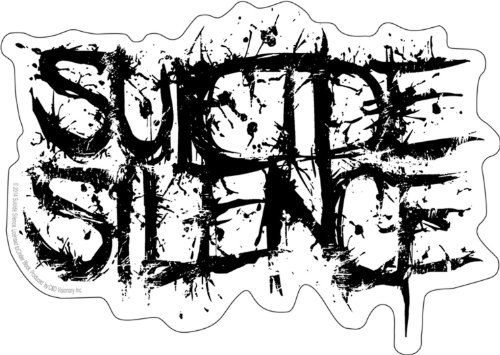 Licenses Products Suicide Silence Logo Sticker - 1
