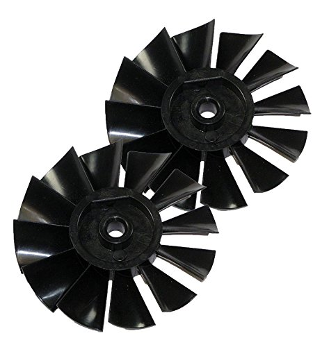 Porter Cable C2002 Air Compressor (2 Pack) Replacement 8mm Motor Fan # D24595-2pk (C2002 Type 7 Parts compare prices)