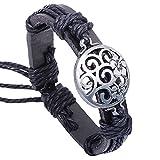 Amyra Lifestyle Genuine Leather Bracelet (Universe)