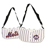 New York Mets Pinstripe Small Jersey Style Purse (Measures Approximately 12