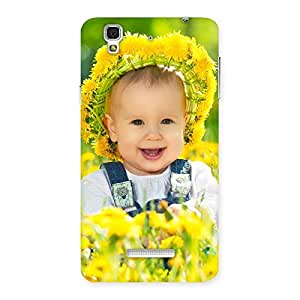 Cute Laughing Baby Girl Back Case Cover for YU Yureka Plus