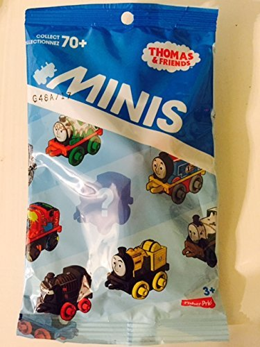 "Thomas & Friends 1"" Mini Individual Engines 2 Blind Packs (Selections Will Vary) - 1"