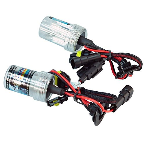 eBoTrade HID Xenon Replacement Bulbs - 9006 8000K - Light Blue (1 Pair) - 2 Year Warranty (8000 Hid Replacement compare prices)