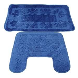 Tappeti blu amazon idee per il design della casa for Amazon tappeti bagno