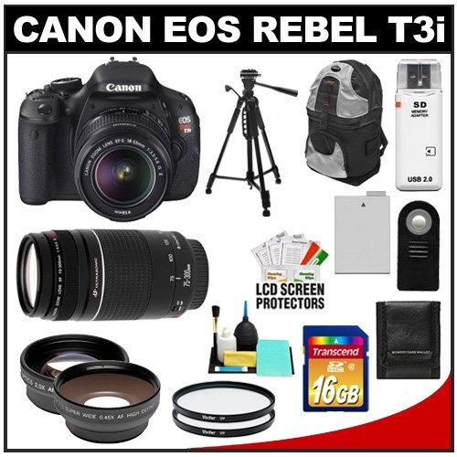 Black friday deals canon eos rebel t3i