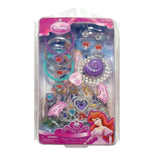 Disney Princess: Ariel's Musical Necklace Set