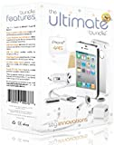 The Ultimate Bundle for iPhone 4 / 4S – White – 7 in 1 Accessory Kit – Gift Packaging Reviews