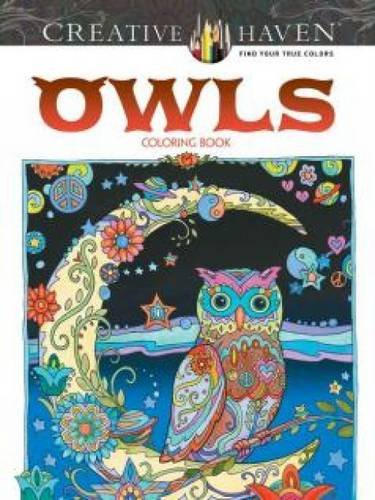 Creative Haven Owls Coloring Book (Adult Coloring) ISBN-13 9780486796642