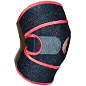 PREMIUM KNEE SUPPORT BRACE ONE SIZE ADJUSTABLE - NEOPRENE COMPRESSION KNEE SLEEVE OPEN PATELLA. BEST FOR RUNNING...