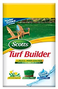 Scotts 24984 15-Pound Turf Builder with PLUS 2 Weed Control (Discontinued by Manufacturer)