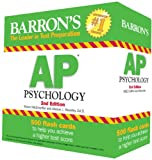 Barrons AP Psychology Flash Cards, 2nd Edition