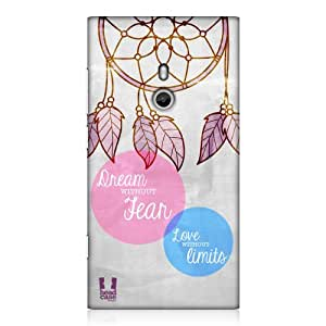 Head Case Designs Dream Catcher Dream Without Fear Design Back Case for Nokia Lumia 800