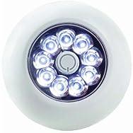 Anywhere Battery Tap Light-WHITE XB ANYWHERE LIGHT
