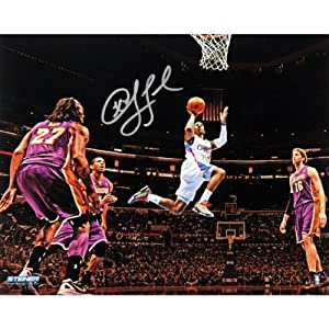 NBA Los Angeles Clippers Chris Paul Layup Against Lakers Wide Angle Signed Photo, 16... by Steiner Sports