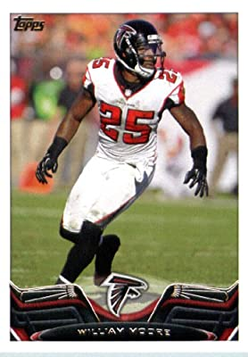 2013 Topps Football Card #337 William Moore - Atlanta Falcons - NFL Trading Cards