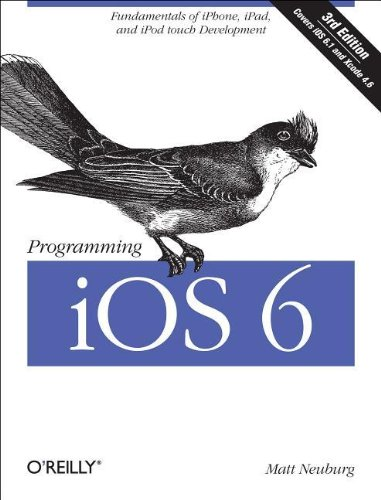 Large book cover: Programming iOS 6