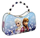 The Tin Box Company Disney Frozen Scoop Carry All Tin, Lark, Amuse, Trifle, Twiddle
