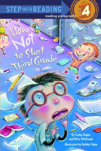 How Not to Start Third Grade (Step into Reading 4) (I Can Read Level 4 compare prices)