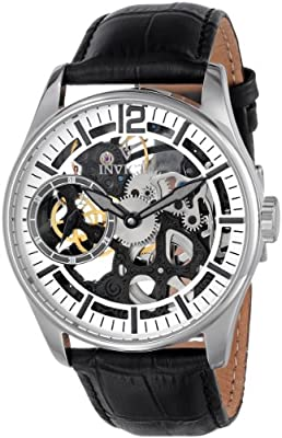 Invicta Men's 12403 Vintage Analog Display Mechanical Hand Wind Black Watch