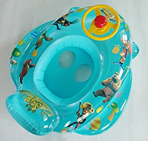 Children Inflatable Big Swim Ring Thicker Ring Seat Baby Swimming Pool Accessories