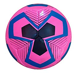 Generic Hikco Hand Stitched Pink Volleyball Kids Training Ball