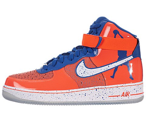 Nike Air Force 1 Hi Comfort Premium RW QS Mens Size (Total Crimson / White) 624185-800 (10.5) (High Top White Air Force 1 compare prices)