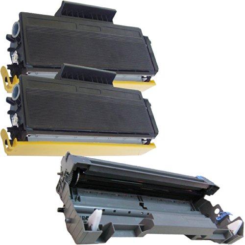 (1 Drum + 2 Toner) Inktoneram® Replacement Toner Cartridges & Drum For Brother Tn620 Dr620 Toner Cartridges & Drum For Brother Dr-620 Tn-620 Set