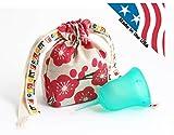 スク-ンカップ(月経カップ)米国製 タンポンに代わる生理用カップ エコパック ハーモニー: サイズ1
