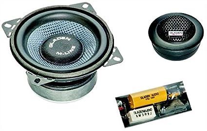 Gladen M100 Set haut-parleur