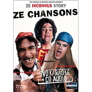 Ze Inconnus Story : Best Of Chansons - Coffret Karaoké [Inclus un CD audio]