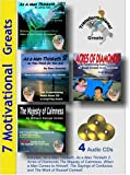 img - for 7 Motivational Greats Audiobooks W. As a Man Thinketh, Acres of Diamonds, the Majesty of Calmness Etc book / textbook / text book