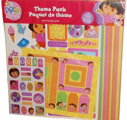 Dora the Explorer Theme Pack Scrapbook Collection