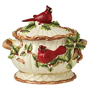 Cardinal Tureen by Lily Creek