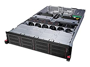 Lenovo 70D0000HUX ThinkServer RD650 70D0, 8 GB RAM, No HDD, ASPEED AST2400, Black