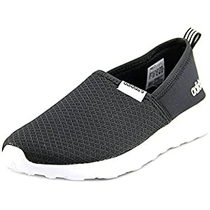 Adidas® Ladies' Neo Lite Racer Slip On Shoe-Black (11)