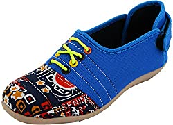 Red Rivin Girls Multicolour Synthetic Casual Shoes - 37 EU