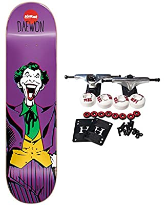 ALMOST X DC COMICS COLLABORATION JOKER Skateboard Complete SONG 8.25