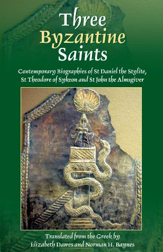 Three Byzantine Saints: Contemporary Biographies of St....