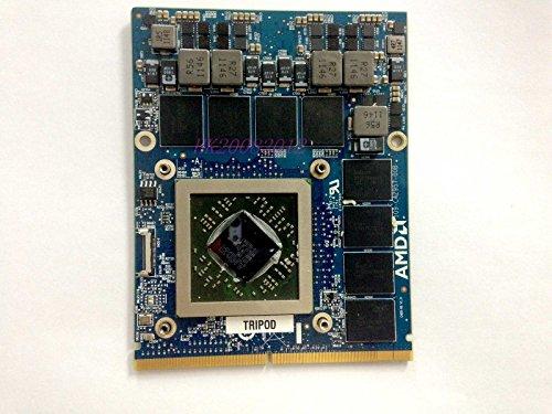 zjw DELL Alienware 17 18 AMD HD 7970M 2GB GDDR5 video card M18X R2 M17X R4 R5 Dell P/N 747M2 (M18x R2 Cooling Fan compare prices)