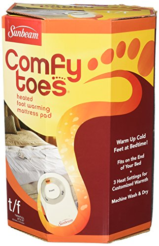 Sunbeam Heated Comfy Toes Foot Warming Pad