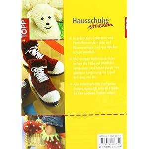 Hausschuhe stricken: Lustige Modelle für mollig-warme Füße