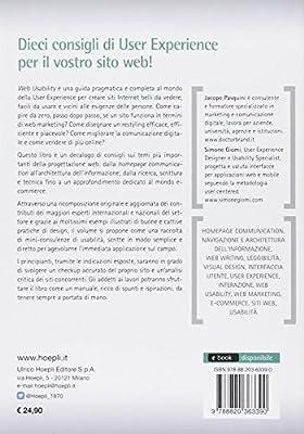 Web usability. Guida completa alla user experience e all'usabilità per comunicare e vendere online