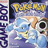 Video Games - Pokemon - Blue Version