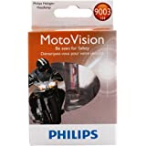 Philips 9003 MotoVision Motorcycle and Powersport Replacement Headlight Bulb, 1 Pack