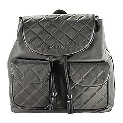 Michael Michael Kors Kieran Large Flap Back Pack Graphtite/Black
