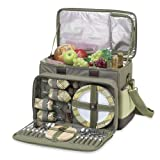 Picnic at Ascot Hamptons Deluxe Picnic Cooler 4 Person