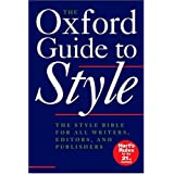 The Oxford Guide to Style