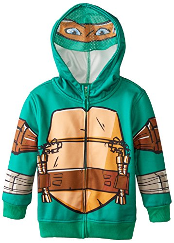 Teenage Mutant Ninja Turtles Little Boys' Michelangelo Character Hoodie